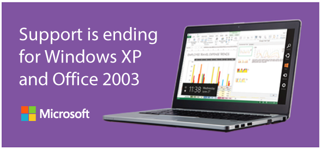 Microsoft XP support ending 2014